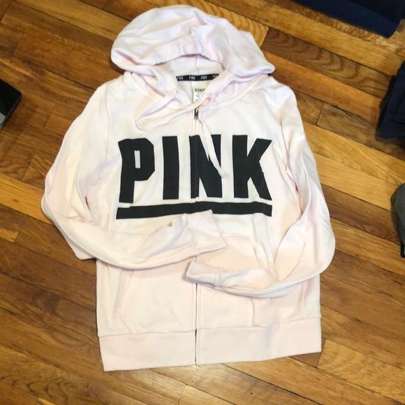 PINK Victoria's Secret Tops - Victoria's Secret zip up hoodie